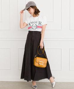 【WEB限定】ミリタリーリメイク風ロングスカート