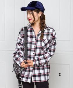 【WEB限定】チェックネルシャツ