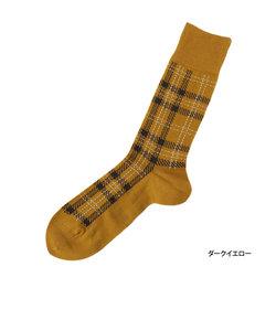 fukuske 定番 福助チェック レギュラー丈 カジュアルソックス