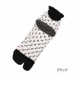 fukuske ドットテグス 足袋型 ショート丈ソックス