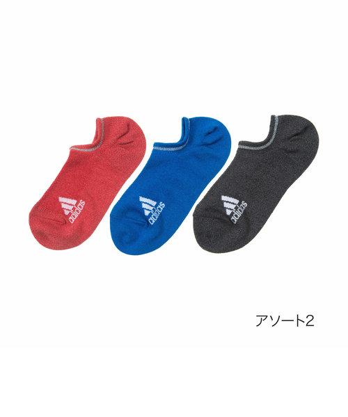 94b7ada8e76af ... レディース adidas(アディダス) 3足組 甲メッシュ 靴から見えにくい ゴースト丈 ...