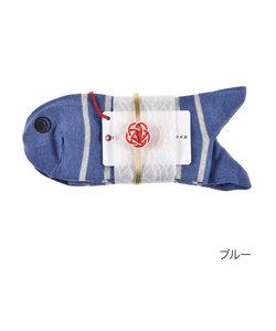 メンズ 目出鯛(めでたい)靴下 ボーダー クルー丈ソックス