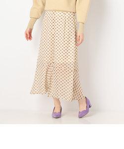 フロントボタンマーメイドスカート