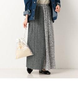A-プリーツ&ギャザースカート