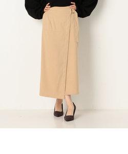 A-ラップピーチIラインスカート