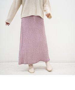 シャーリングマキシスカート