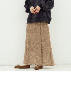 楊柳フラワーミディフレアスカート
