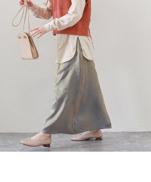 ブライトセミフレアスカート