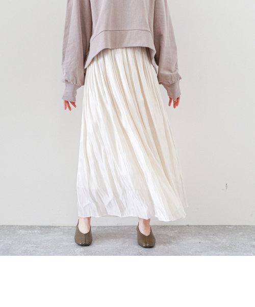 シャイニーギャザースカート