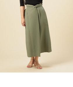 ウェストひねりスカート
