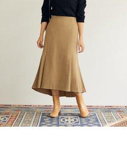 ボックスフレアミディスカート
