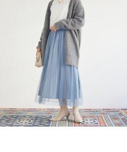 ボックスアコーディオンプリーツスカート