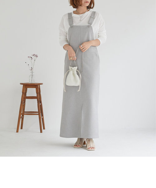 ツイード調ジャンパースカート