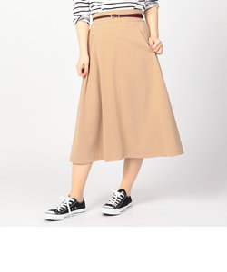 起毛ポケット付きロングスカート