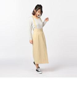 ギャバサス付タイトスカート
