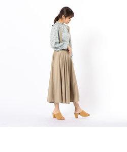 肩ひも付フレアスカート
