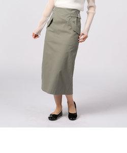 フラップポケットタイトスカート