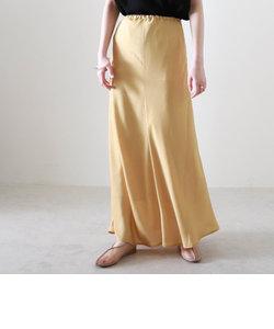 クラッシュサテンマーメードスカート