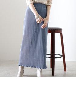 プリーツカットタイトスカート
