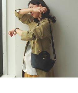 [トプカピ ブレス] TOPKAPI BREATH スコッチグレイン ネオレザー ショルダー付き ミニ トートバッグ プレーン
