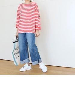 【セール!】Le minor ルミノア PETIT COPAIN ボーダーワイドバスクシャツ カットソー