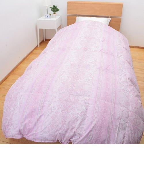【お買い得価格福袋】羽毛掛け布団<br> カナダ産 ホワイトグースダウン90% 1.2kg<br> (シングル)150×210㎝