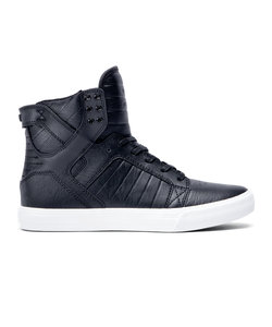 SKYTOP CLASSICS / BLACK LEATHER WHITE