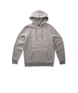 LINES PULLOVER / GREY HEATHER