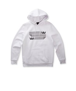 LINKED CROWN STRIPE PULLOVER / WHITE