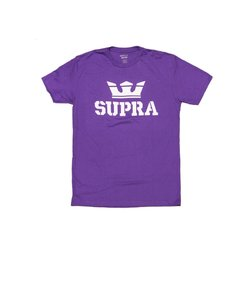 ABOVE REGULAR T-SHIRT / PURPLE WHITE