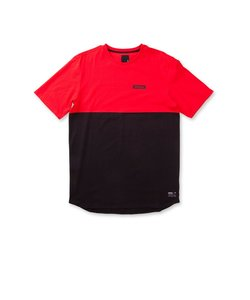BLOCK SS CREW / RED BLACK