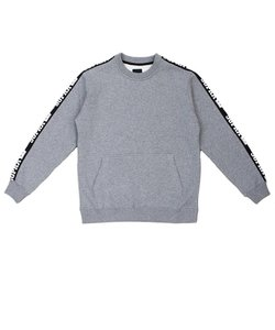 STREETER CREW / GREY HEATHER BLACK