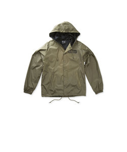 CITIES HOOD COACHES JACKET / OLIVE BLACK