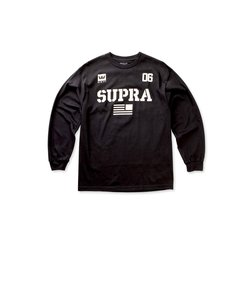 TEAM USA L/S T-SHIRT / BLACK BONE