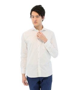 新疆綿カットドビーホリゾンタルカラーシャツ