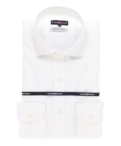 スーピマコットンホリゾンタルカラーシャツ