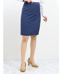マルゾット/MARZOTTO セットアップタイトスカート ストライプ青