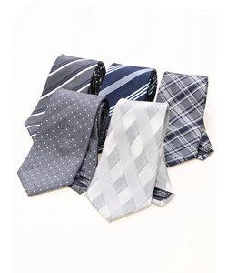 【WEB限定企画商品】タカキューメンズ/TAKA-Q:MEN ネクタイ5本セット 洗濯ネット付き