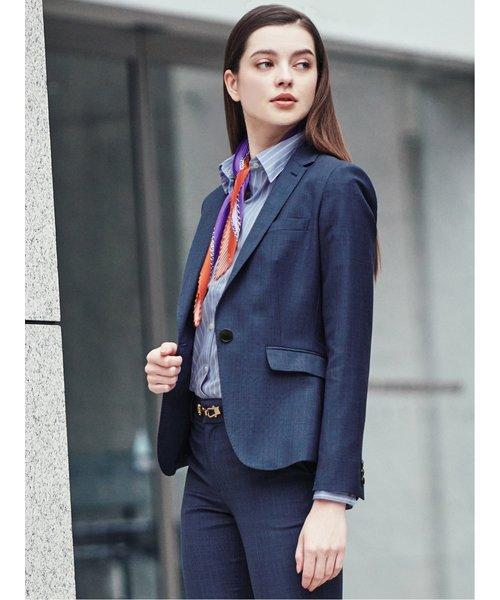 イージーケア綿100% レギュラーカラー長袖シャツ