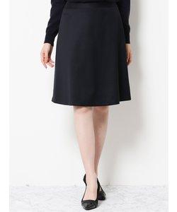 レダ/REDA FLEXO ウィンドペン柄セットアップ フレアースカート 紺