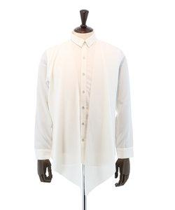 レギュラーカラードレープシャツ