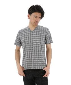 チドリふくれジャガードTシャツ