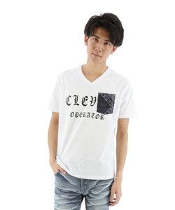 コールドタッチバンダナポケット付ロゴTシャツ