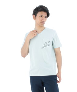 コールドタッチポケットロゴTシャツ