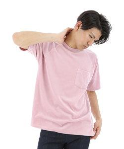 サマーベロアラグランTシャツ
