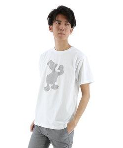 semantic design×DONALD ラインストーンシルエットTシャツ