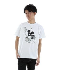 semantic design×MICKEY ラインストーンロックTシャツ