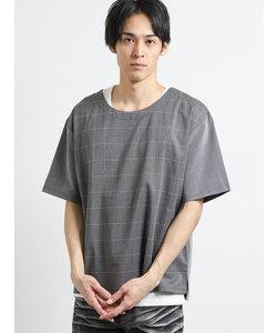アンサンブル(布帛Tシャツ+タンクトップ)