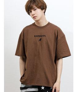 カンゴール/KANGOL ワンポイント クルーネック半袖Tシャツ
