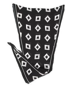 日本製 幾何学柄シルク ネッカチーフ